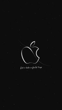 苹果 logo 品牌 黑色 简约