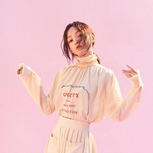 张韶涵 歌手 演员 明星 艺人 粉色