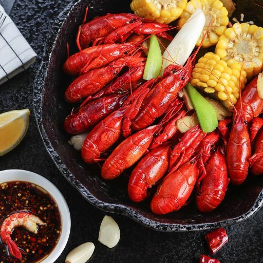 小龙虾 食物 河鲜 美味 料理 玉米
