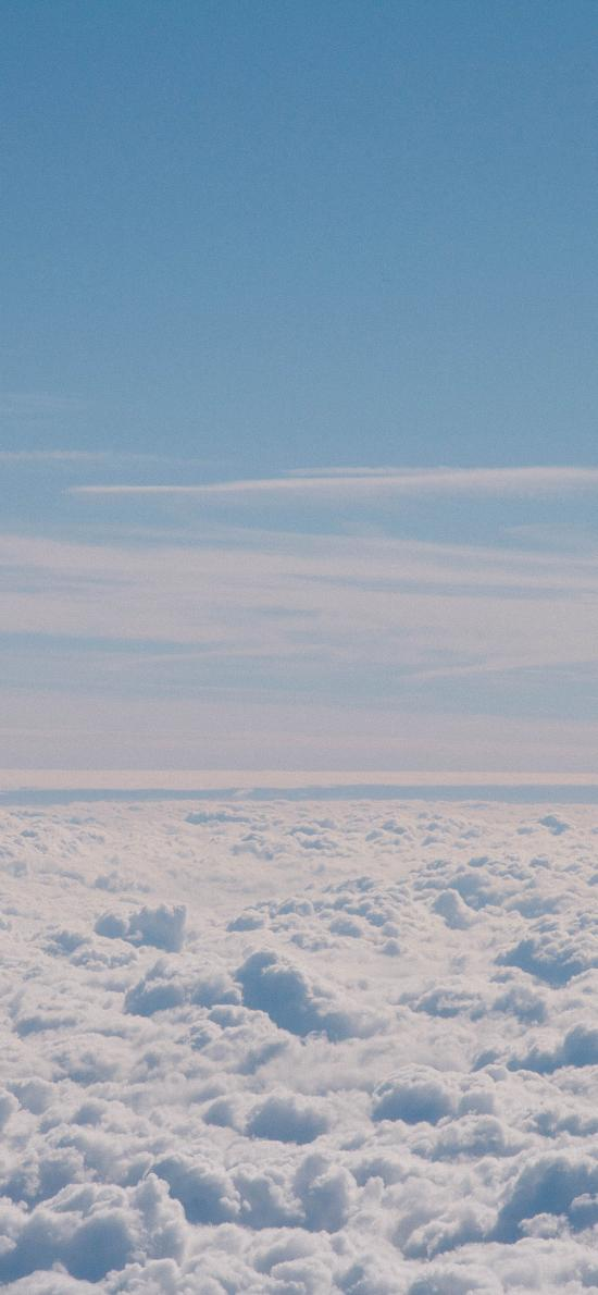 云端 云层 天空 唯美 高空