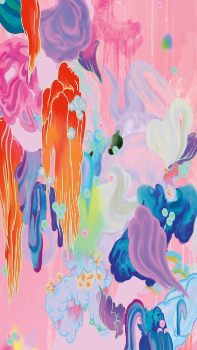 色彩 炫丽 抽象