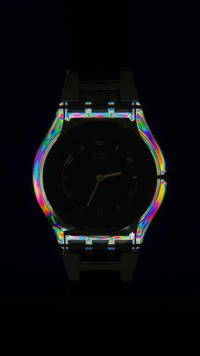 手表 计时 装饰 镭射