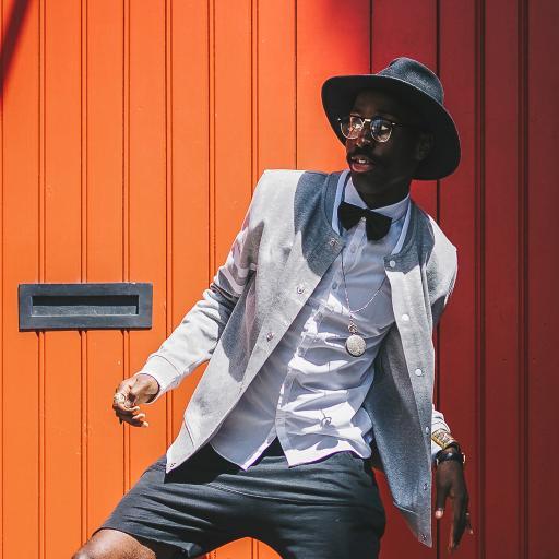 欧美 黑人写真 服饰 造型