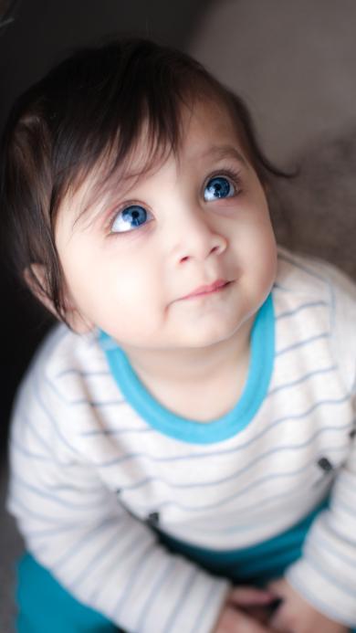 欧美 大眼 可爱 蓝瞳