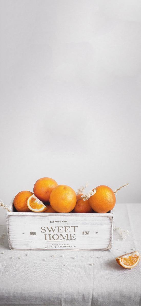 木箱 水果 橙子 维C
