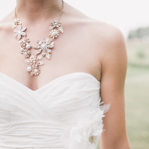 婚纱 项链 珠宝 新娘