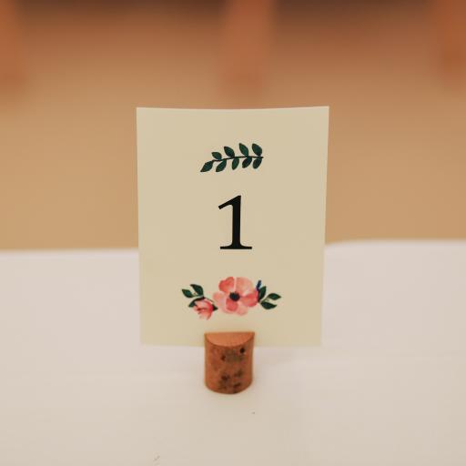 卡片 手绘 数字1