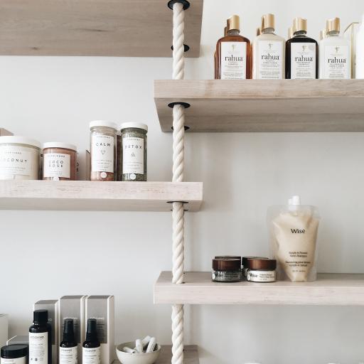 瓶罐 简约 洗发护肤品