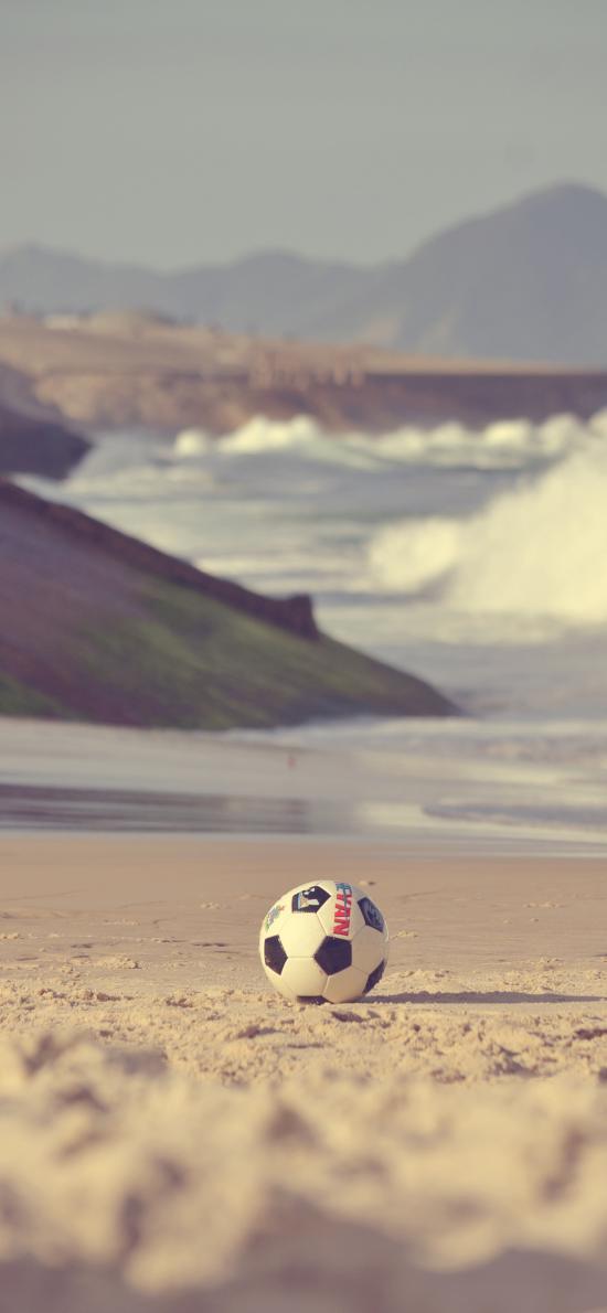 足球 沙灘 海邊 運動