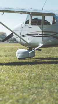 飞机 草坪 直升机 飞行