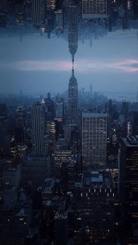城市 建筑 对称 高楼大厦 都市