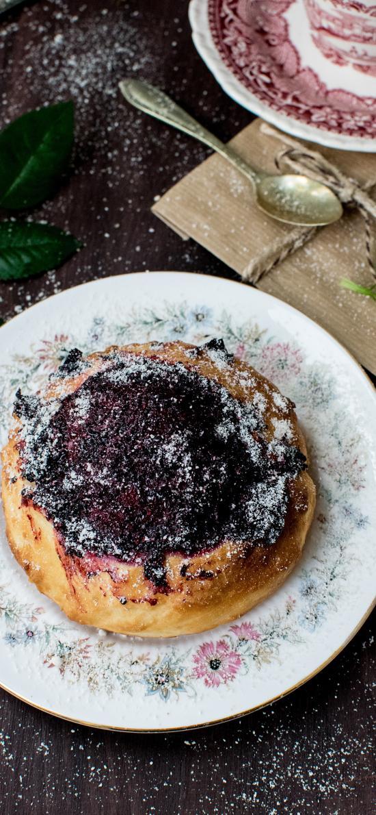 甜品 糕点 果酱 蛋糕