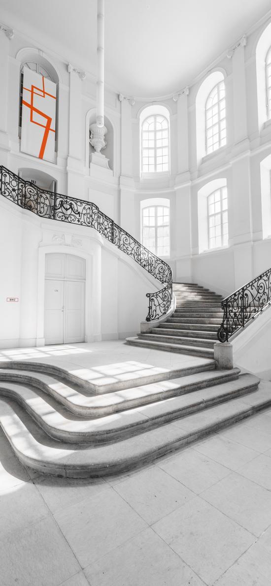 建筑 室内 阶梯 楼梯