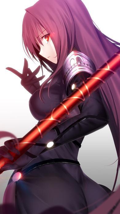 斯卡哈 二次元 fate grand order 女王