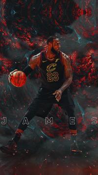詹姆斯 篮球 运动员 球星 NBA