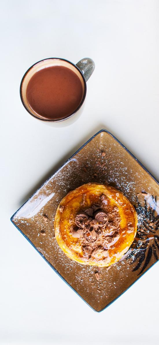 咖啡 松饼 甜品 点心 蜂蜜 精致