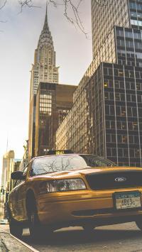 汽车 小轿车 出租车 的士 城市