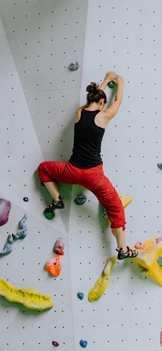 極限運動 攀巖 室內練習