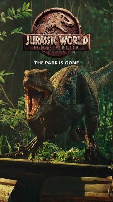 侏罗纪世界2 电影 科幻 海报 恐龙