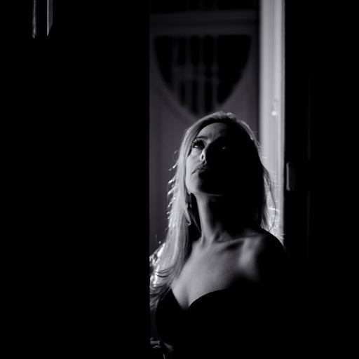 欧美美女 性感 写真 黑白
