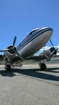 飞机 机场 航空 螺旋桨
