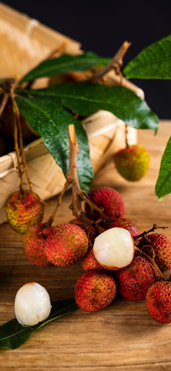 荔枝 水果 新鲜 果肉