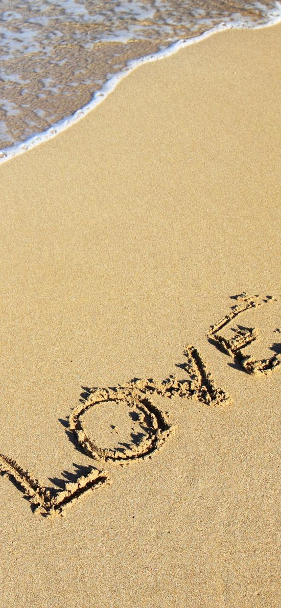 love 愛情 沙灘 英文 浪漫