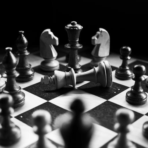 国际象棋 黑白 休闲 娱乐