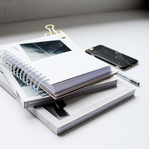 静物 笔记 杂志 手机