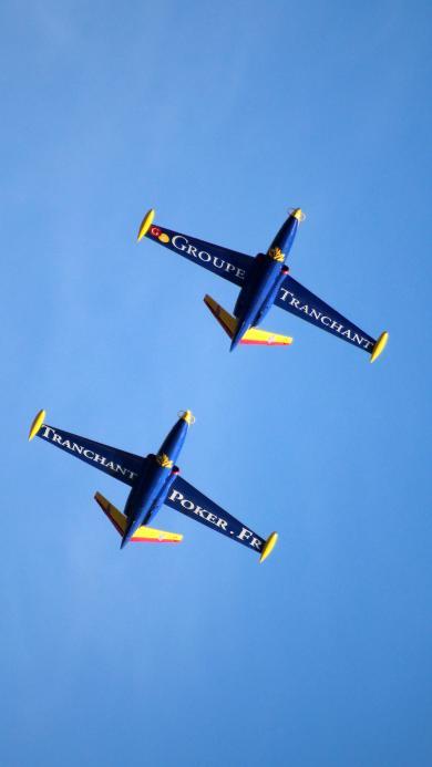 飞机 战斗机 飞行 航空 蓝色 航展