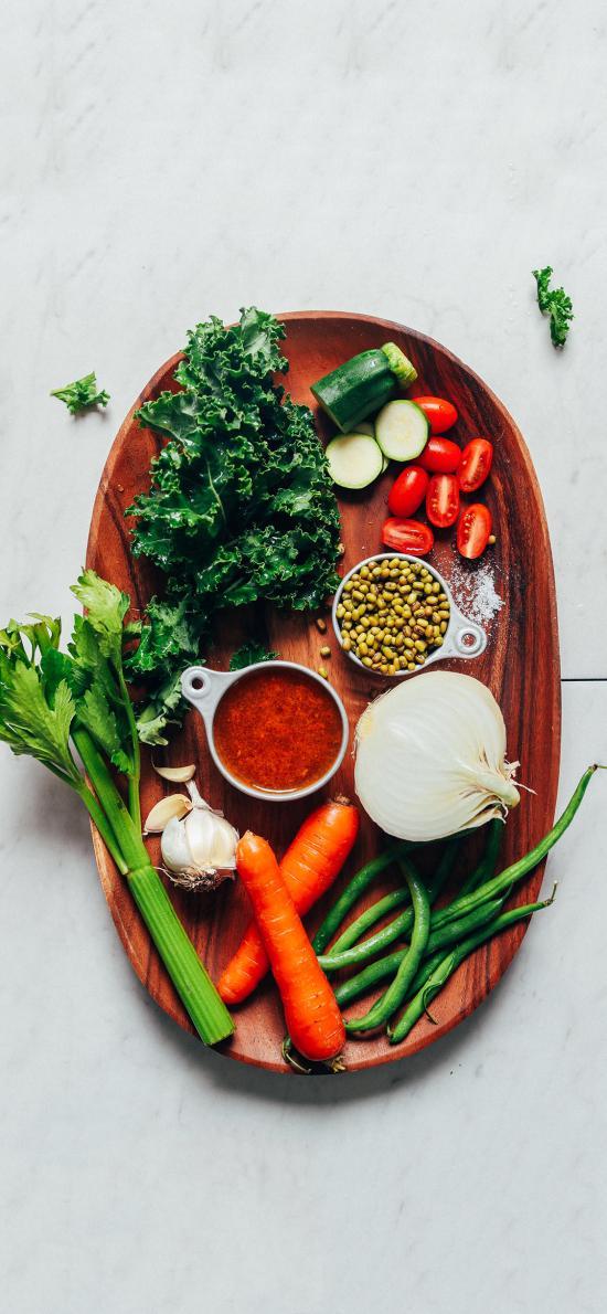 食材 蔬果 西芹 胡萝卜 小番茄