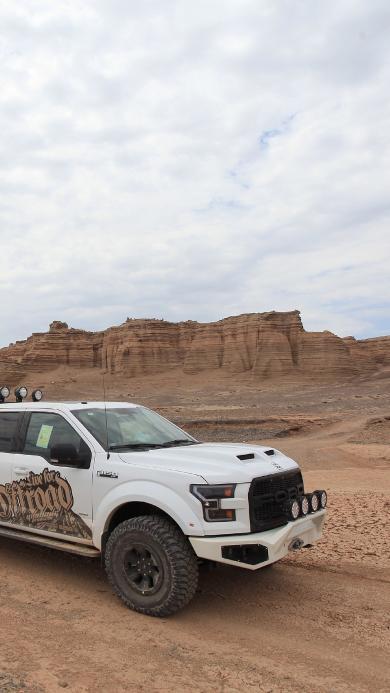 越野 山地 汽车 旅行 沙漠