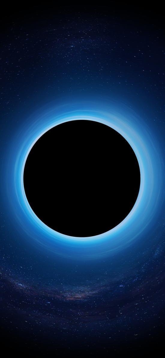 圆 几何 黑暗 光环