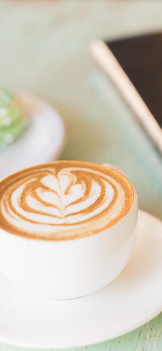 咖啡 拉花 杯具 静物