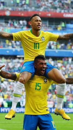 内马尔 足球 运动员 世界杯 球星 比赛 庆祝 欢呼