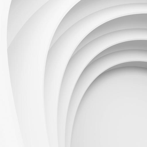 白 曲线 简约 线条