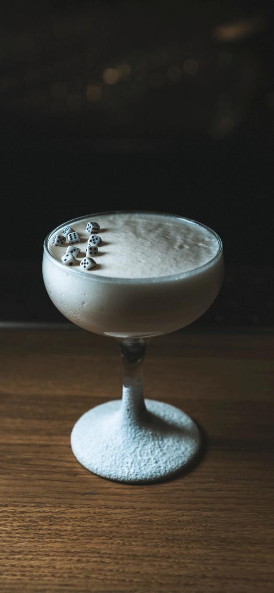 奶昔 骰子 鸡尾酒杯 创意