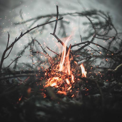 火焰 燃烧 火堆 柴火