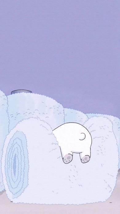 动画 咱们裸熊 大白熊