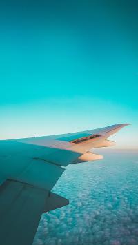 机翼 高空 飞机 航空