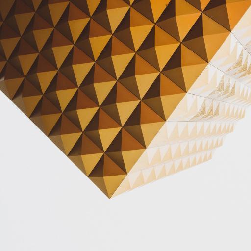几何 方块 渐变 简约