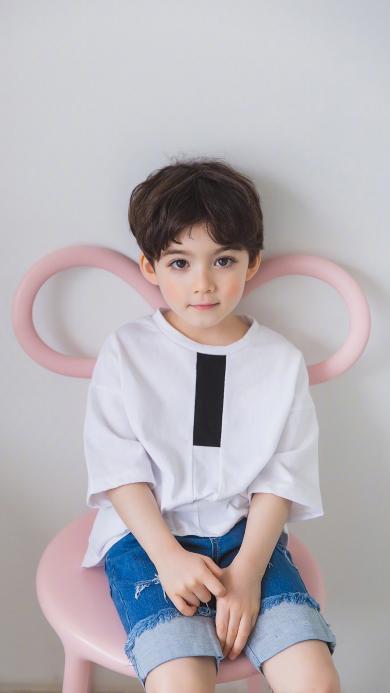 Lauren Cooper 混血儿 小男孩 儿童 可爱