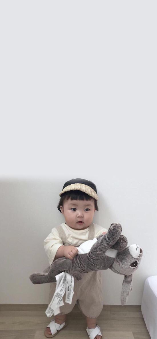 罗熙 小女孩 可爱 萌 宝宝