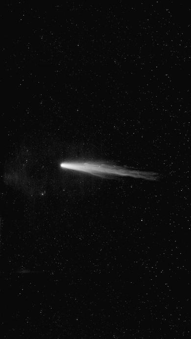 彗星 宇宙 天文 太空 黑白 星空