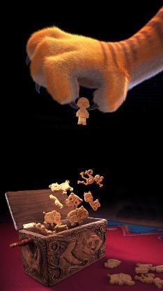 神奇马戏团 电影 海报 猫爪 动画