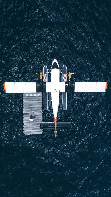 飞机 航空 海面 飞行