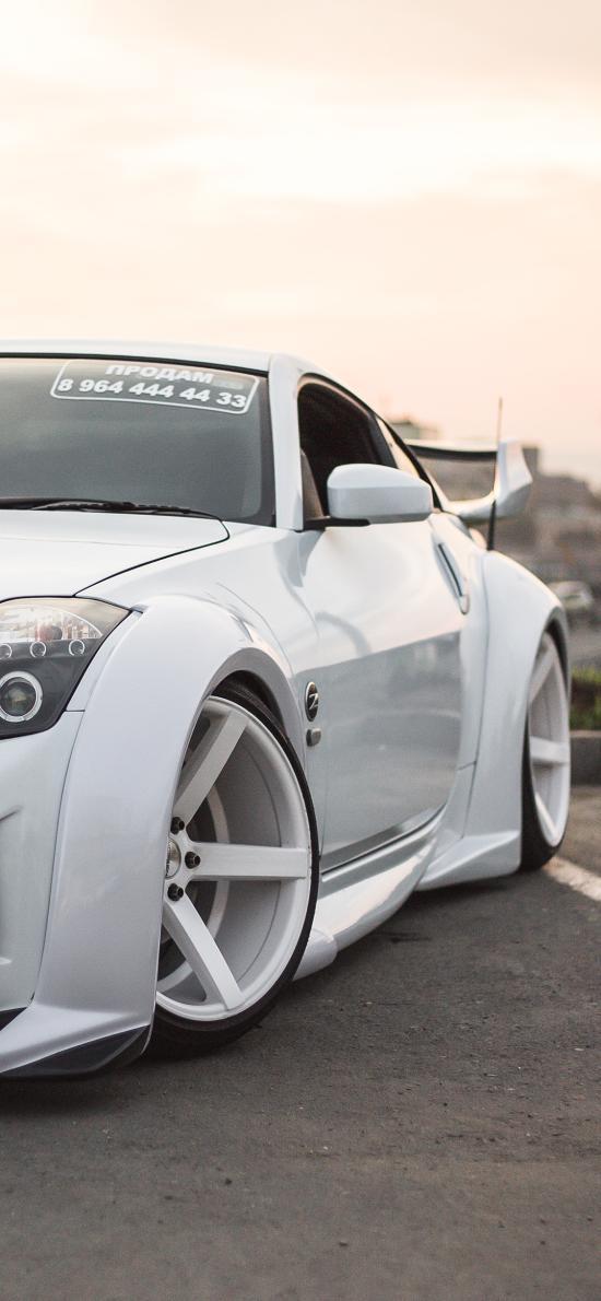 跑车 炫酷 白色 汽车