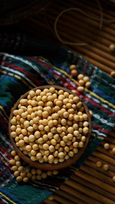 食材 黄豆 大豆 颗粒
