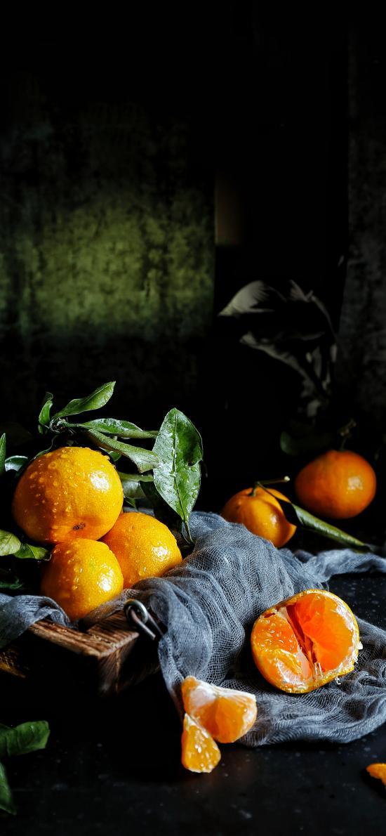 水果 橘子 剥皮 酸甜