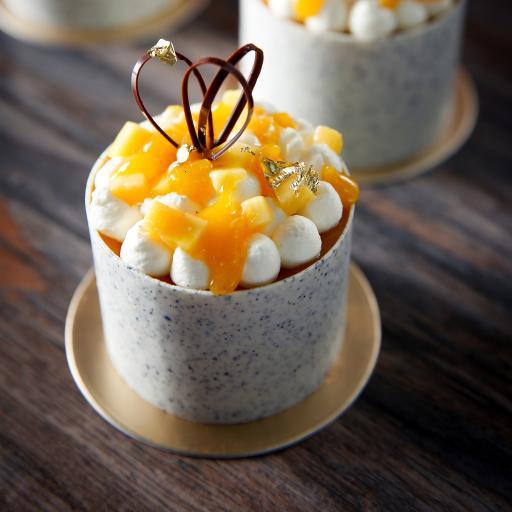 烘焙 甜品 小蛋糕 芒果